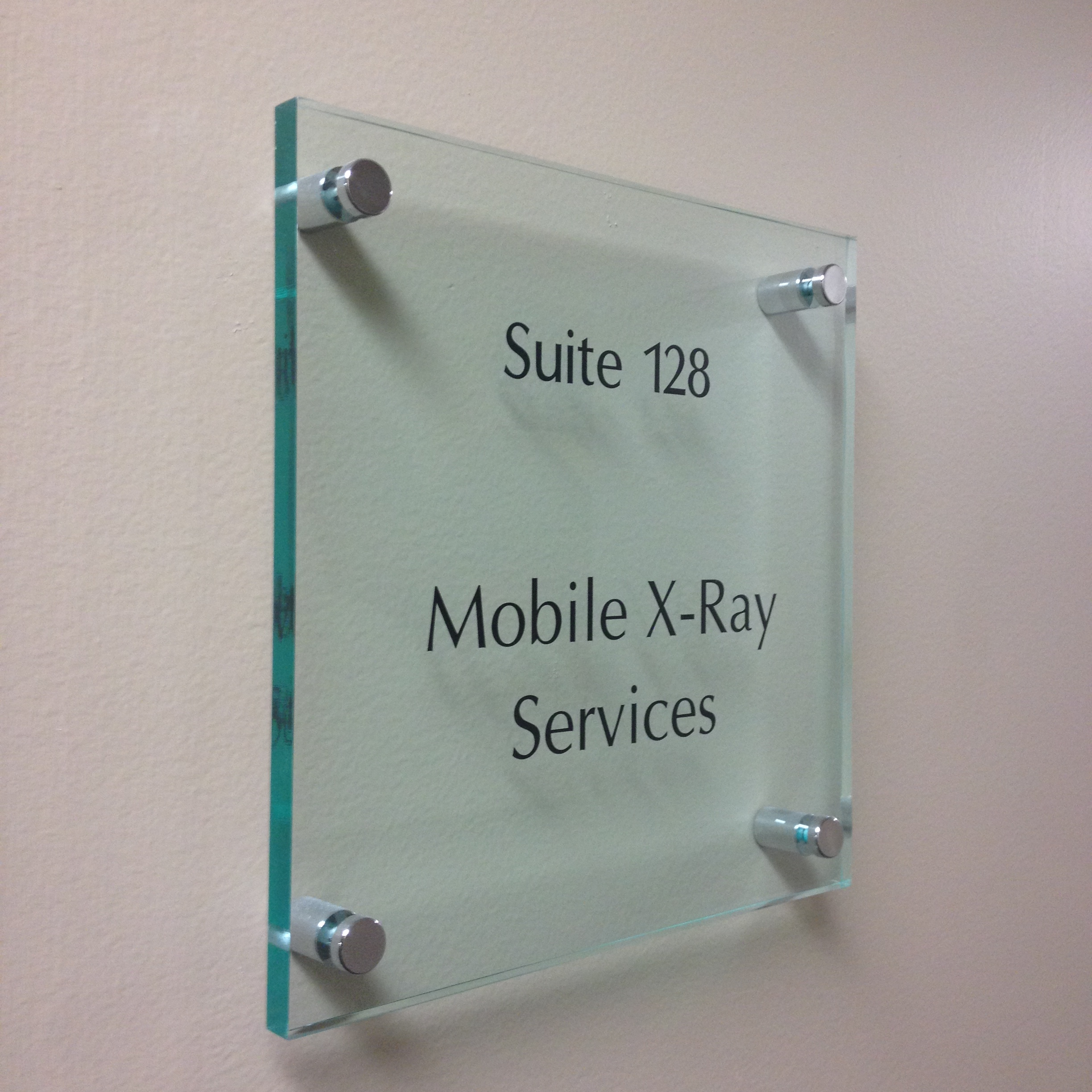 Standoff Signs Interior Sign Solutions